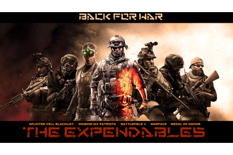 Awesome HD Expendables Video Game - HD Wallpapers