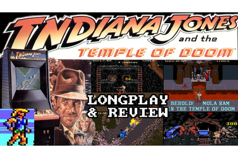 [ARCADE / MAME] Indiana Jones And The Temple Of Doom ...