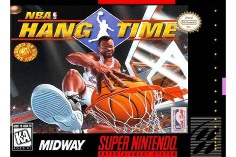 NBA Hang Time SNES Super Nintendo