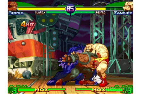 Street Fighter Alpha 3 Download on Games4Win