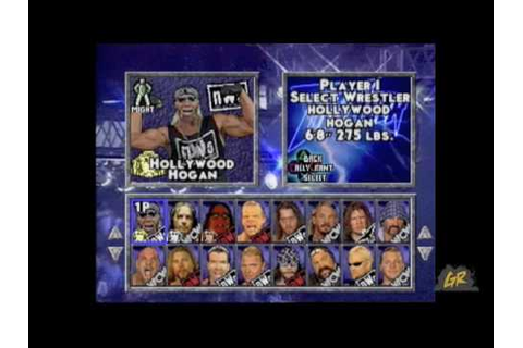 WCW/NWO Thunder Gameplay Video - YouTube