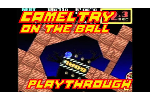 Cameltry - On the Ball (キャメルトライ) Playthrough Complete SNES ...