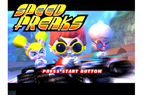 Speed Freaks for Sony Playstation - The Video Games Museum