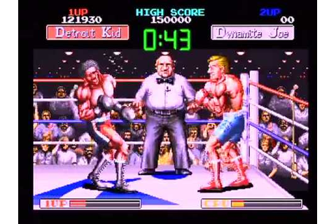 Final Blow : Taito Arcade Boxing Game Retro Mayweather ...