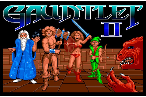 My all time favourite video games: Gauntlet II - Commodore ...