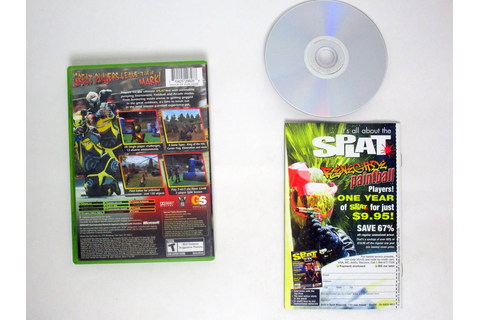 Splat Magazine Renegade Paintball game for Microsoft Xbox ...