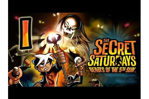 The Secret Saturdays: Beasts of the 5th Sun (Wii, PS2, PSP ...