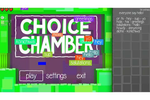 Download Choice Chamber Full PC Game