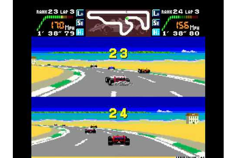 PC Engine Longplay [193] Final Lap Twin (a) - YouTube
