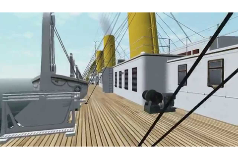 Virtual Sailor 7 - Britannic, Torpedo Attack - YouTube