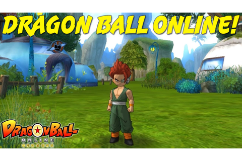 DRAGON BALL ONLINE | Character Creation & Gameplay! - YouTube