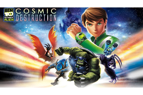 Ben 10 Ultimate Alien Cosmic Destruction Walkthrough ...