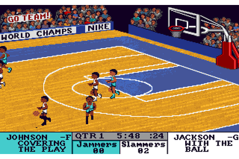 Fast Break (1989) by Accolade Amiga game