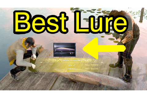 Final Fantasy XV: Best Lure (Big Blaze Bahamut From Quest ...