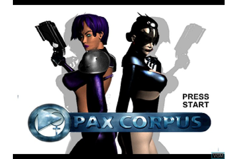Pax Corpus for Sony Playstation - The Video Games Museum