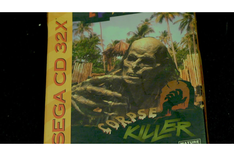 Corpse Killer (Sega CD 32X Video Game) James & Mike - YouTube