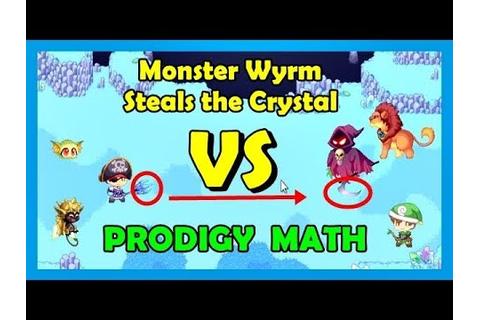 Monster Wyrm Steals the Crystal 💠 | Prodigy Math Game ...
