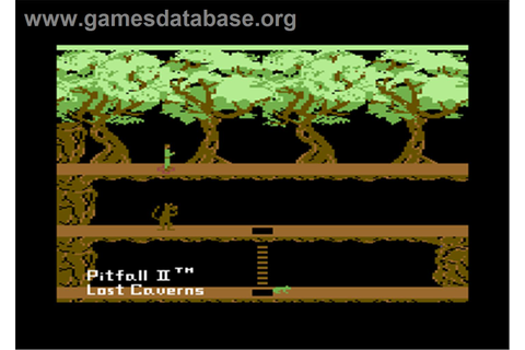 Pitfall II: Lost Caverns - Commodore 64 - Games Database