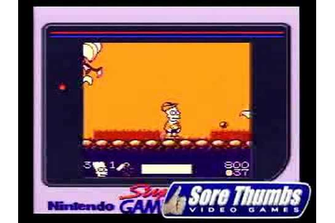 Nintendo Game Boy BART AND THE BEANSTALK SIMPSONS - YouTube