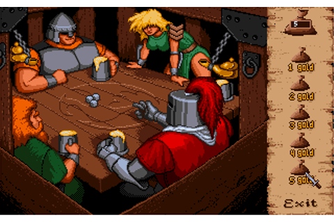 Moonstone: A Hard Days Knight Screenshots for Amiga ...