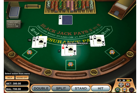 American Blackjack Game Play Free BetSoft Blackjack Online ...