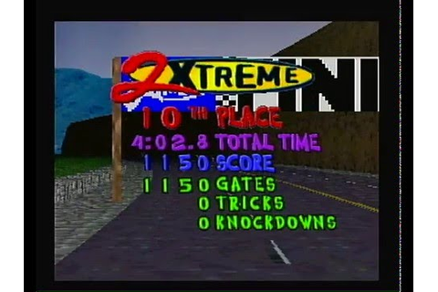 2Xtreme (PSX, PS1, Playstation) - opening video and ...