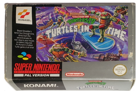 Buy Teenage Mutant Hero Turtles IV: Turtles in Time (Boxed ...
