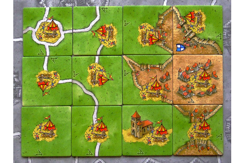 Carcassonne: The Grass Connection - Board & Card Games ...