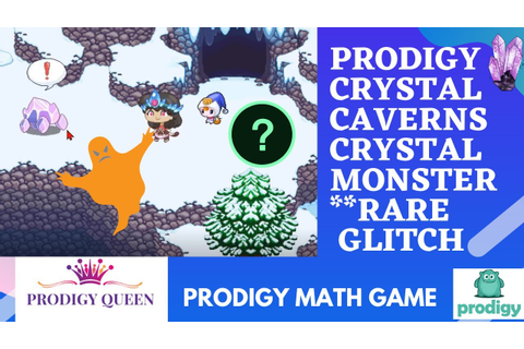 Prodigy Math Game | Crystal Caverns Crystal Monster RARE ...