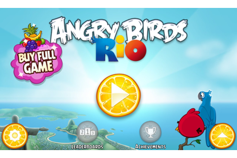 Angry Birds Rio – Games for Windows Phone 2018 – Free ...