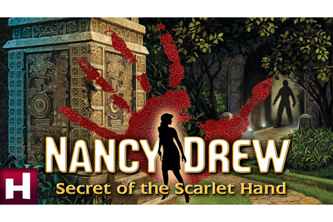 Nancy Drew: Secret of the Scarlet Hand Official Trailer ...