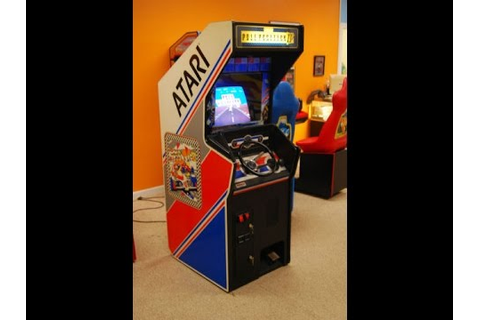 Atari's classic 1983 Pole Position II Arcade Game ...