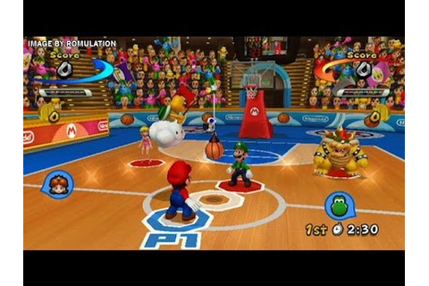 Mario Sports Mix - Mario And Friends Basketball Games ...