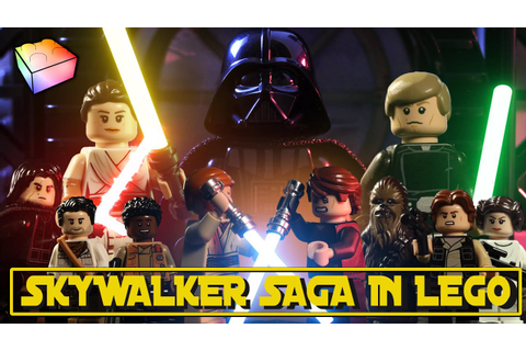 Star Wars: The Skywalker Saga in LEGO! - YouTube