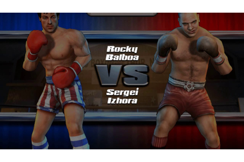 Rocky legends (PS2) Survival Mode (Rocky Balboa) - YouTube