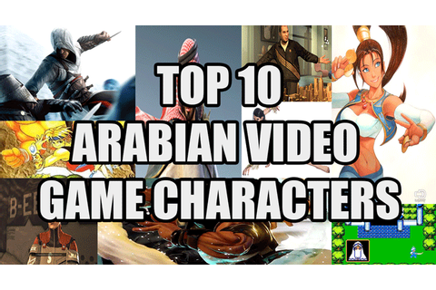 Top 10 Arabian Video Game Characters - Fox View Games