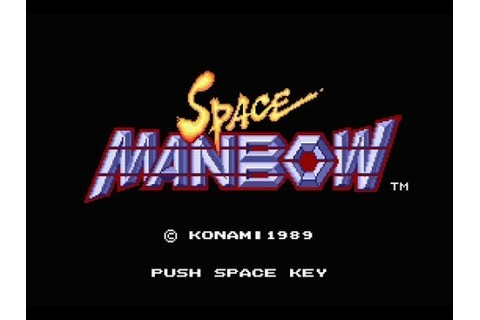 Space Manbow Review for the MSX 2 by John Gage - YouTube