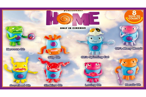 DreamWorks Home McDonald's Happy Meal Toys 2015 (ALL ...