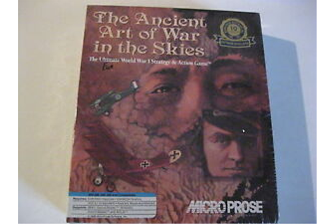 The Ancient Art of War in the Skies PC Game Factory Sealed ...