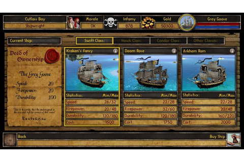 Buccaneer: The Pursuit of Infamy - PC - Review
