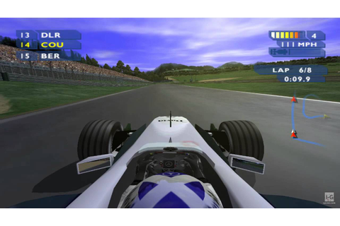F1 Career Challenge GameCube Gameplay HD - YouTube