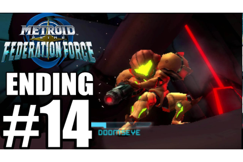Metroid Prime Federation Force - ENDING FINAL BOSS ...