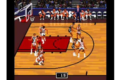 Bulls Vs Blazers and the NBA Playoffs (SNES): Chicago ...