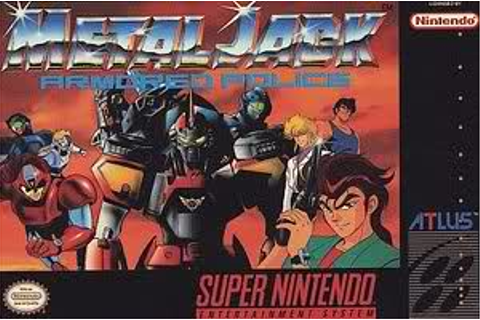 Metal Jack: Armored Police (Found 1992 English version of ...