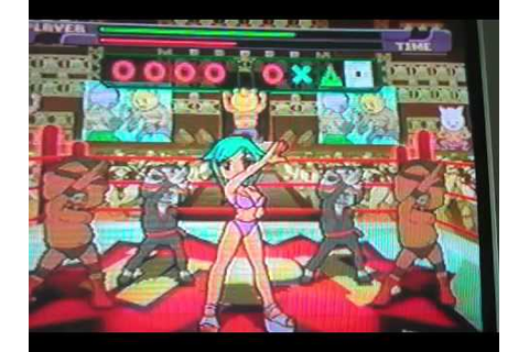 Japanese Dancing Playstation Game - YouTube