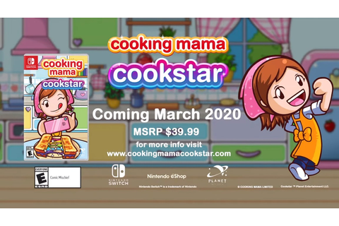 Cooking Mama: Cookstar debut trailer shows March 2020 ...
