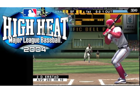 High Heat Major League Baseball 2004 ... (PS2) - YouTube
