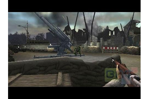Test Call of Duty Les Chemins de la Victoire PSP - YouTube