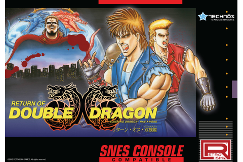 Japan-only 'Double Dragon' game comes to the Super NES ...