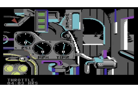 The Train: Escape to Normandy (C64 Version), Accolade ...